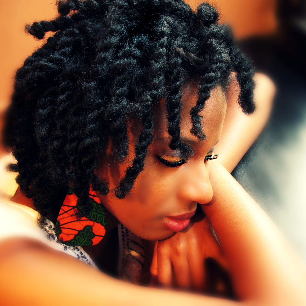 How To Double Strand Twist Natural Hair