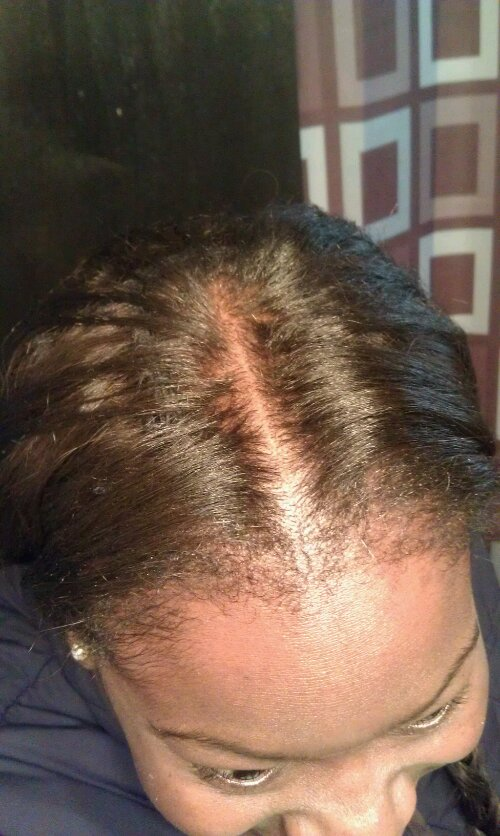 Blending Natural Hair With Weave No Heat 32